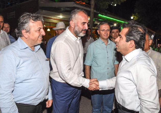 Vali Güzeloğlu, Karamürsel'i Ziyaret Etti