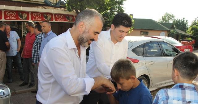 Başkan Yıldırım Köy Ziyaretlerinde