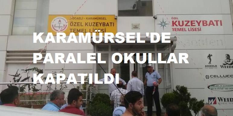 Karamürsel'de 2 Okul Kapatıldı