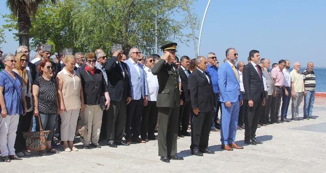 Atatürk'ün Karamürsel'e Gelişi Törenle Kutlandı