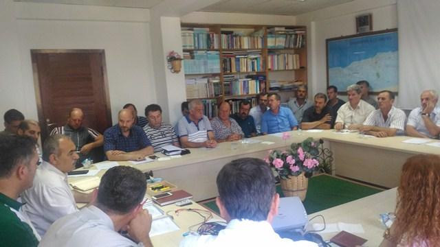Karamürsel'de Muhtarlarla Toplantı