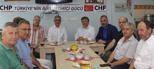Başkan Yıldırım, Siyasi Partileri Ziyaret Etti