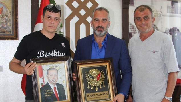 Tepeköy Kooperatifinden Başkan'a Teşekkür