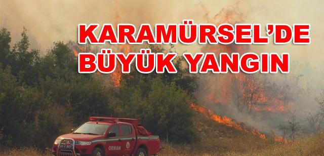 Karamürsel'de Büyük Yangın