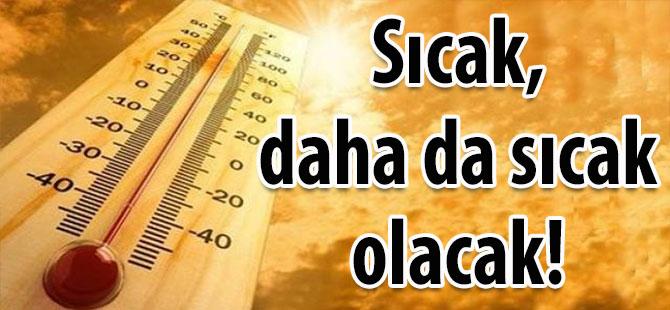 Uzmanlardan sıcak hava uyarısı!