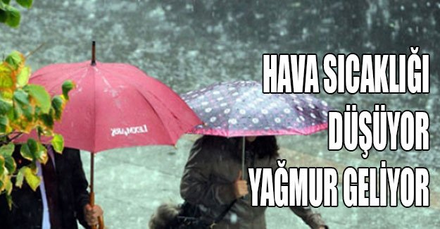 Karamürsel'e Hafta Sonu Yağmur Geliyor