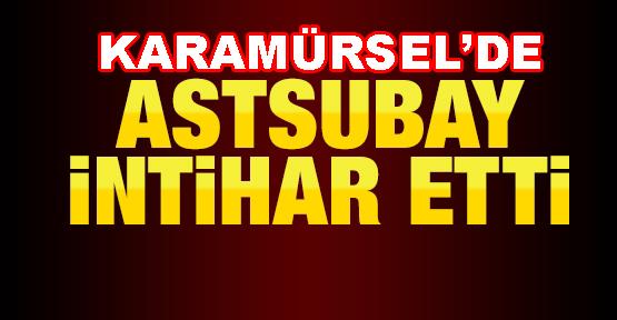 Karamürsel'de Astsubay İntihar Etti.