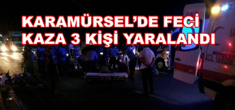 Karamürsel'de Feci Kaza 3 Yaralı
