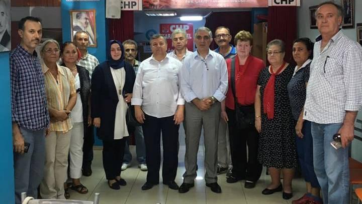 Karamürsel AK Parti'den CHP'ye Ziyaret