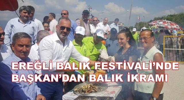 Karamürsel'de Balık Festivali'ne Büyük Katılım