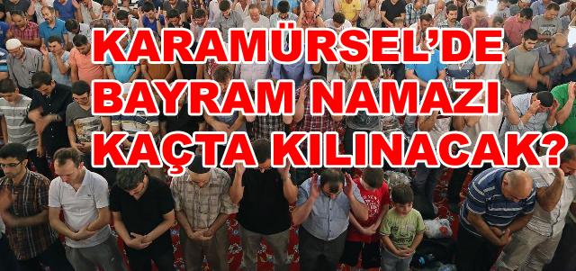 Karamürsel'de Bayram Namazı Kaçta?