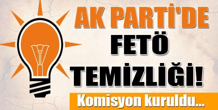 AK Parti içinde büyük FETÖ temizliği