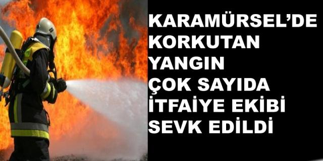 Karamürsel Korkutan Yangın