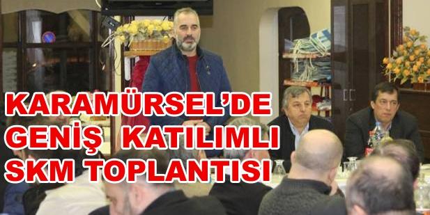 Karamürsel'de Referandum Toplantıları Sürüyor