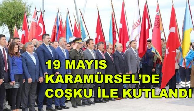 19 Mayıs Karamürsel'de Kutlandı