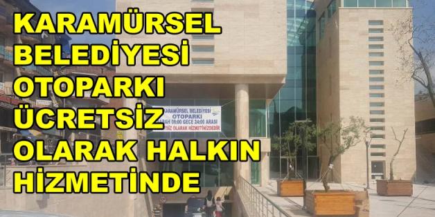 Karamürsel Belediye Otoparkı Açıldı
