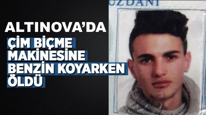 Altınova'da Üzücü Olay 19 Yaşındaki Genç Öldü