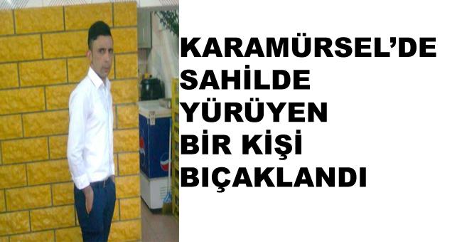 Karamürsel'de Bir Kişi Bıçaklandı