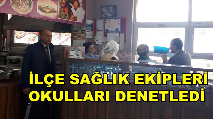 Karamürsel'de Okullar Denetledi