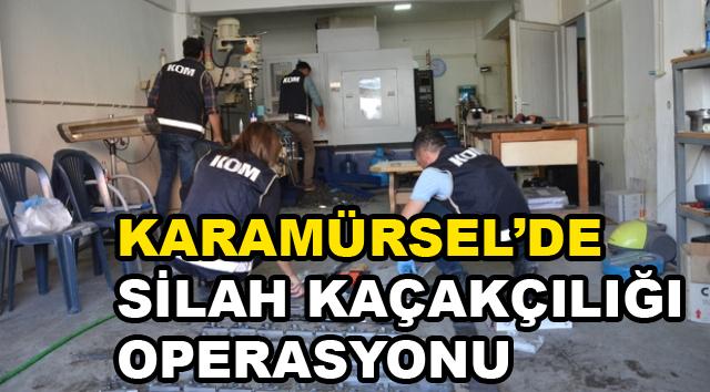 Karamürsel'de Silah ve Mühimmat  Kaçakçılığı Operasyonu