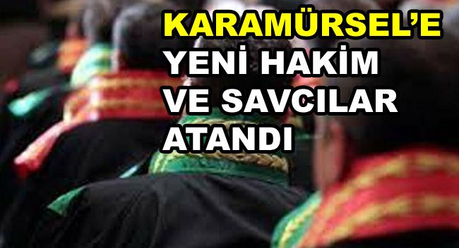 Karamürsel'e yeni Hakim Ve Savcılar Atandı