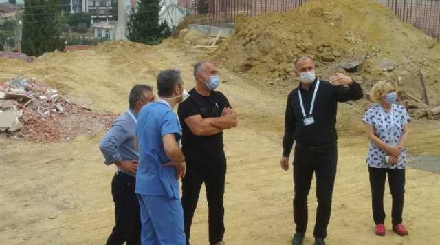Devlet Hastanesi Ek Binası Hızla Yapılıyor
