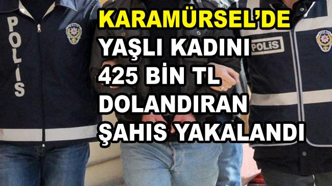 Karamürsel'de Yaşlı Kadını Dolandıran Şahıs Yakalandı