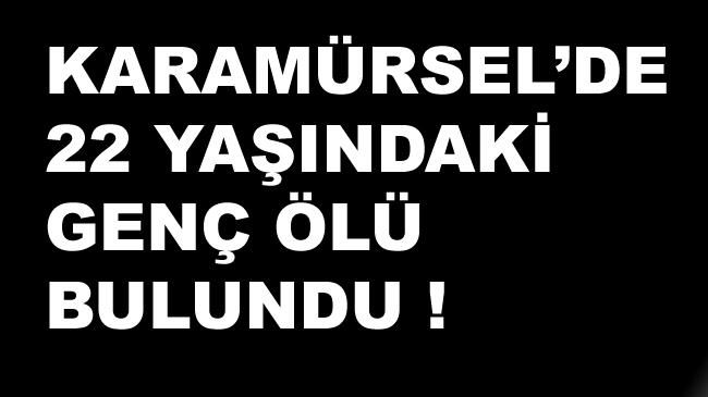 Karamürsel'de Kayıp Genç Ölü Bulundu !