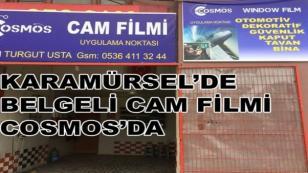 Karamürsel'de Belgeli Cam Filmi Cosmos'da