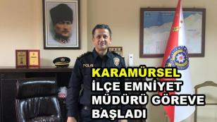 İlçe Emniyet Müdürü Mehmet Gölükcü Göreve Başladı
