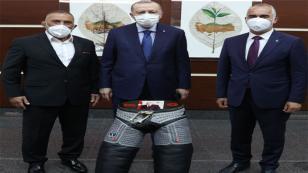 Başkan Yıldırım Cumhurbaşkanı Erdoğan'ı Ziyaret Etti