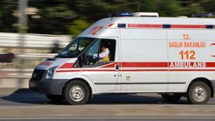 Karamürse'de Çirkin Olay  Ambulans şoförü bıçaklandı