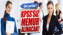 KPPS'siz Memur Alınacak