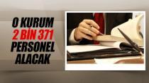 Adalet Bakanlığı 2 bin 371 personel alacak..