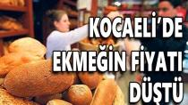 Kocaeli'nde Ekmeğin Fiyatı Düştü