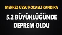 Kocaeli'de Deprem Korkuttu