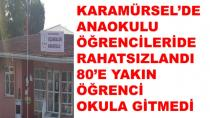 Karamürsel'de Anaokulu Öğrencileri'de Rahatsızlandı
