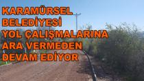 Karamürsel'de Yol Çalışmaları Hızla Devam Ediyor