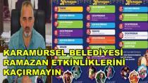 Karamürsel'de Ramazan Etkinliklerini Kaçırmayın