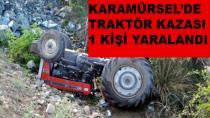 Karamürsel'de Trafik Kazası Bir Yaralı