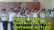 Hikmet Özbağcı Polis Haftasını Kutladı
