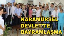 Karamürsel Devlet Hastanesi Personeli Bayramlaştı