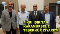 Fikri Işık'tan Karamürsel'e Teşekkür Ziyareti