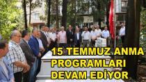 Karamürsel'de 15 Temmuz Anma Programları Devam Ediyor
