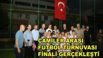 Camiler Arası Futbol Turnuvası Final Yaptı