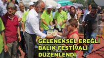 Ereğli Balık Festivaline Büyük Katılım