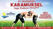 Karamürsel Güreşleri 28 Eylül'de Yapılacak