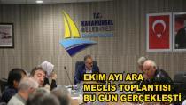 Ekim Ayı Ara Meclis Toplantısı Yapıldı