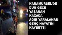 Karamürsel'de Gece Vakti Feci Kaza 1 Ölü 1 Ağır Yaralı