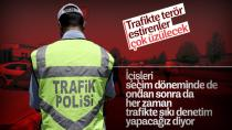 Trafikte Uygulamalar Devam Edecek